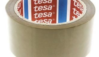 Tesa® 4089 Brown Single Sided Packaging Tape