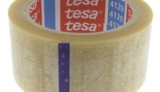 Tesa® 4120 Transparent Single Sided Packaging Tape