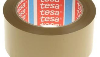 Tesa® 4124 Brown Single Sided Packaging Tape