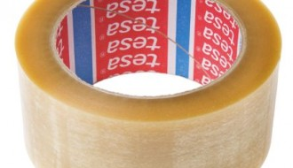 Tesa® 4124 Transparent Single Sided Packaging Tape