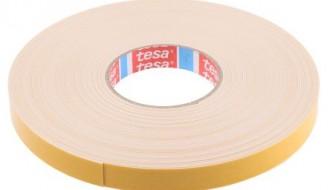 Tesa® 4957 Black/White PE Foam Double Sided Tape