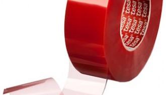 Tesa® 4965 Transparent Double Sided Plastic Tape