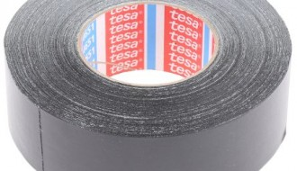 Tesa 4651 Acrylic Coated Black Cloth Tape