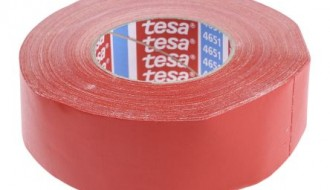 Tesa 4651 Acrylic Coated Red Cloth Tape