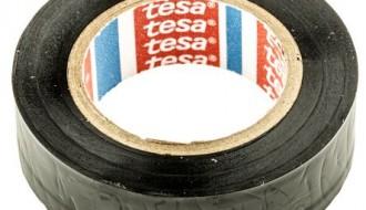 Tesaflex® 4252 Black Electrical Insulation Tape